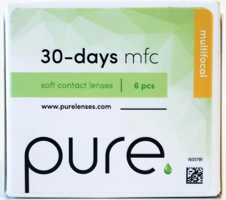 Pure 30-days 6 pk progressiv linse